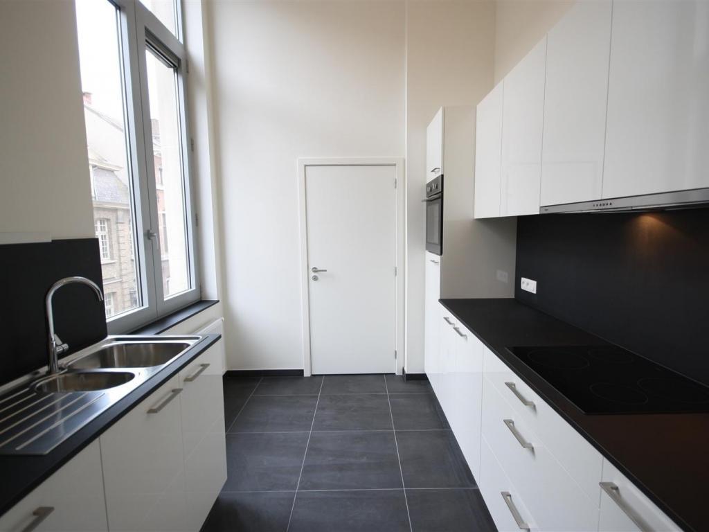 - Finished kitchen