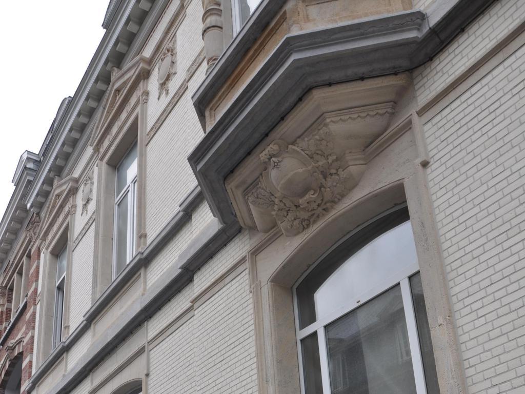- Restored façade