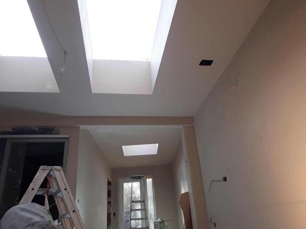- Gyproc and plastering