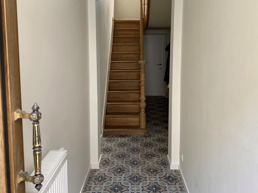 - Finished hallway