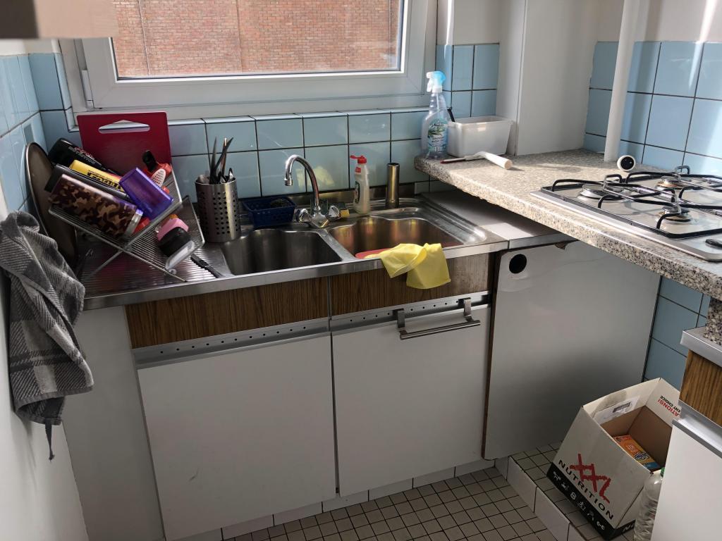 - Old kitchen