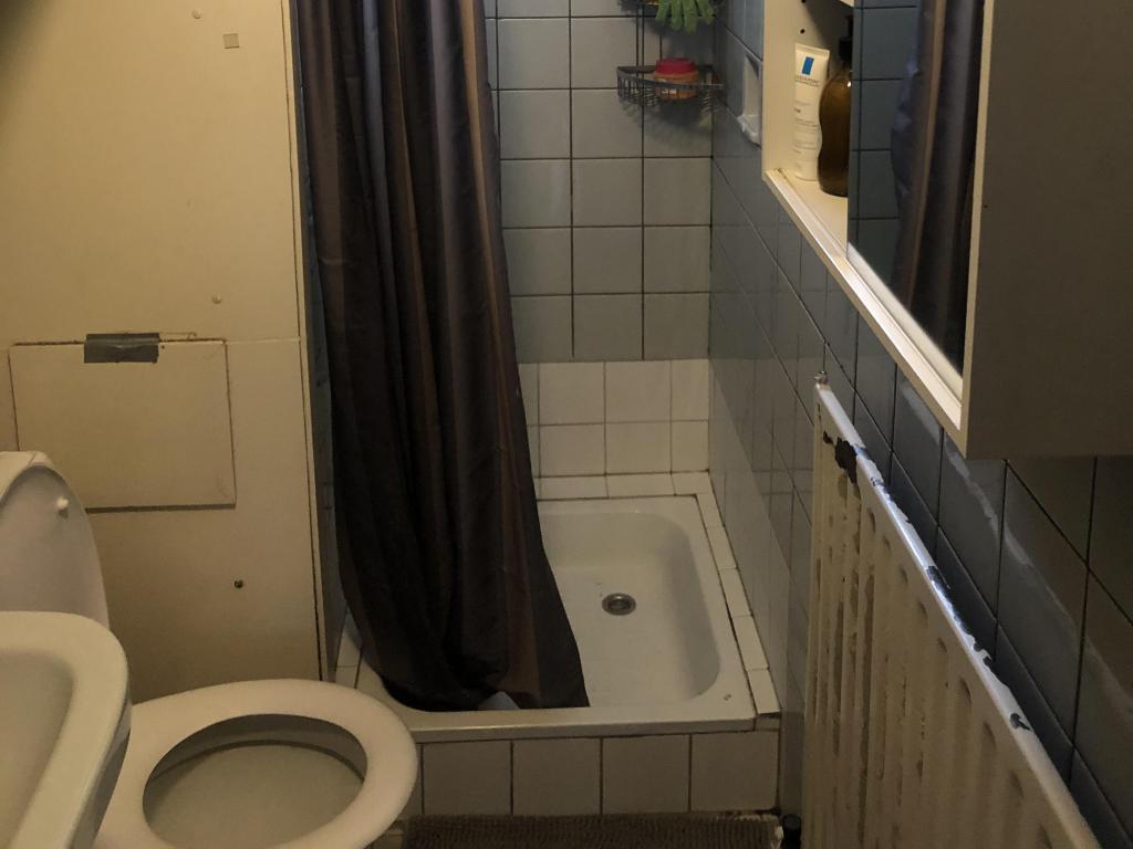 - Old bathroom