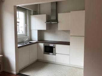 Keuken en leefruimte