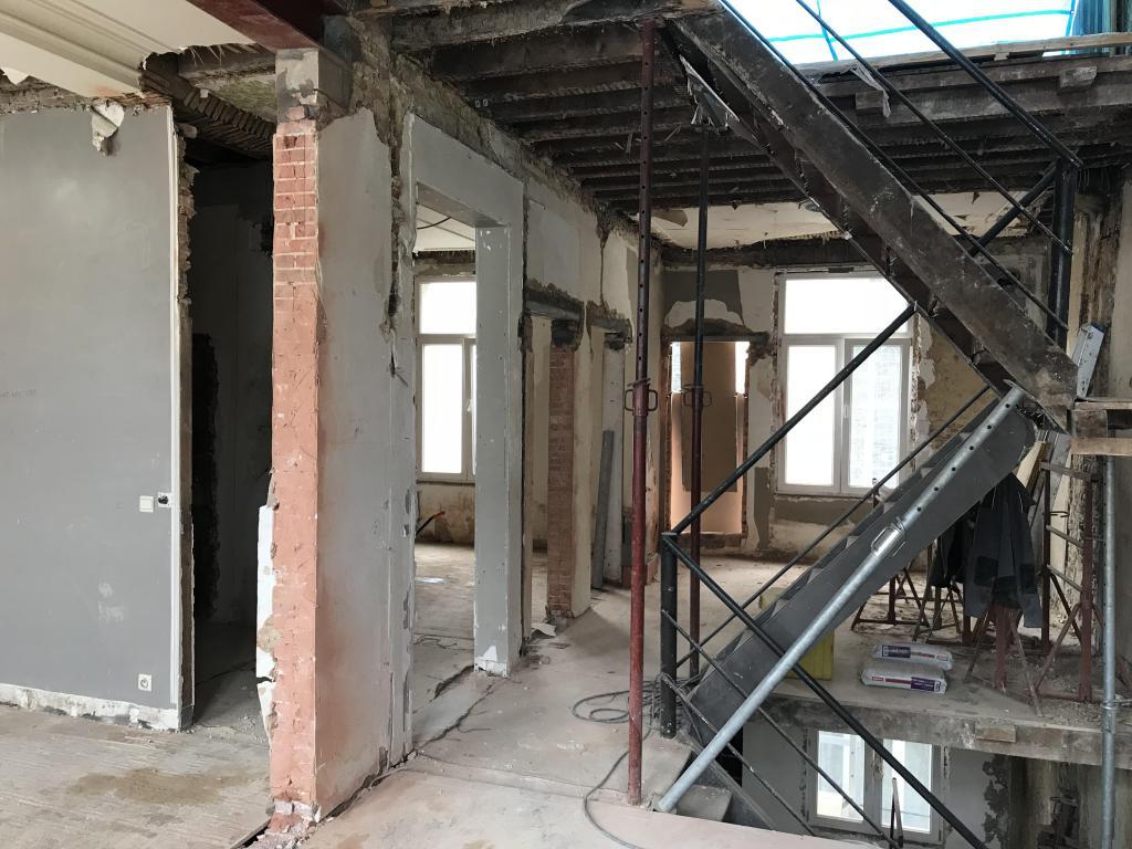 - Appartement 5 tijdens de verbouwing