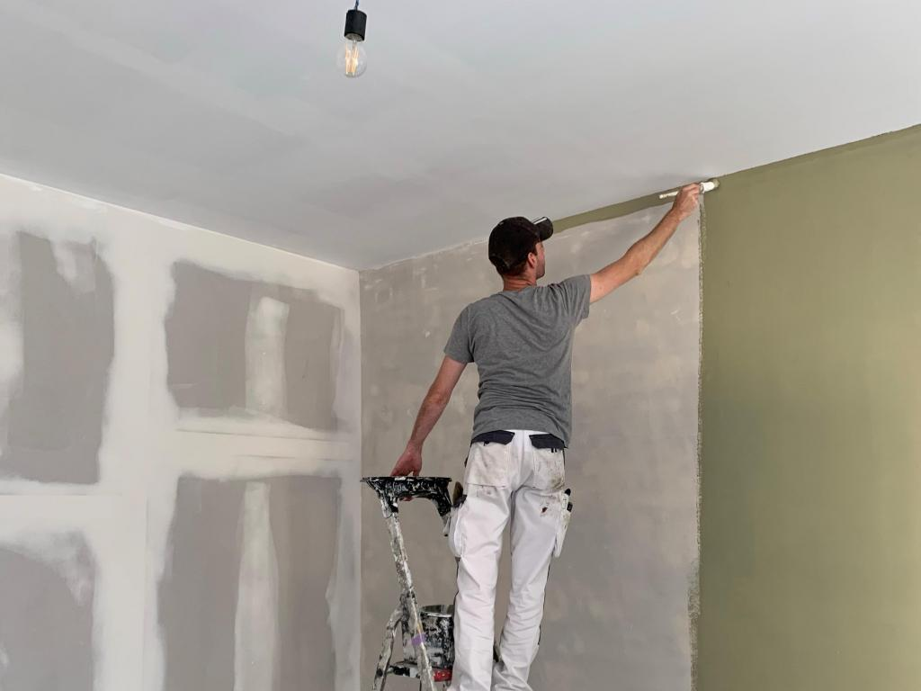 - Painting pre-colored primer